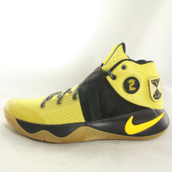 78e30194ff78 NIKE Kyrie 2 As 10 Celery Varsity Maize Sneakers